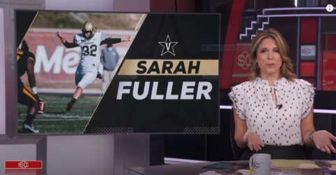 Sports Writer Pins Down Media for Virtue Signaling Over Woman Appearing in College Football Game