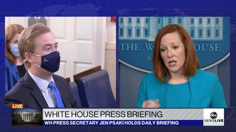 WH's Jen Psaki Gets Destroyed by Doocy, Colleagues on Biden's Border Crisis