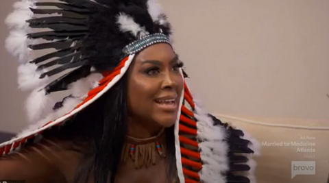 Black 'Real Housewives' Star Dubbed 'Racist' For Halloween Costume
