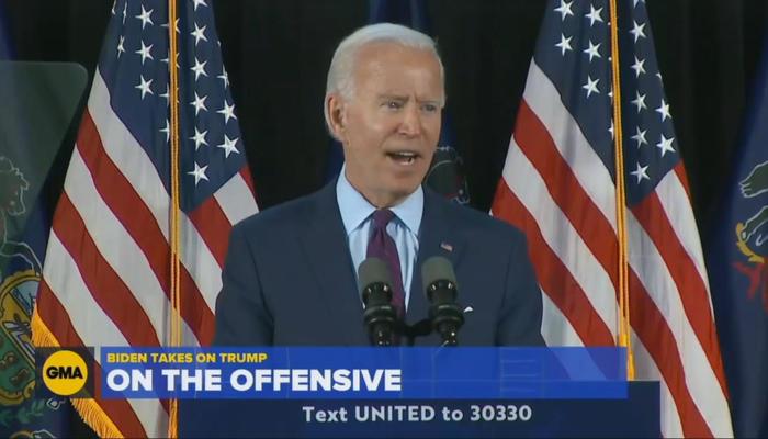 Joe Biden Offensive