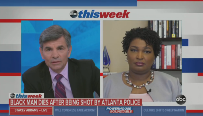 George Stephanopoulos Stacey Abrams This Week