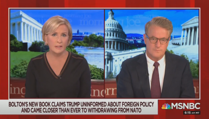 Mika Brzezinski Joe Scarborough Morning Joe 6-18-20