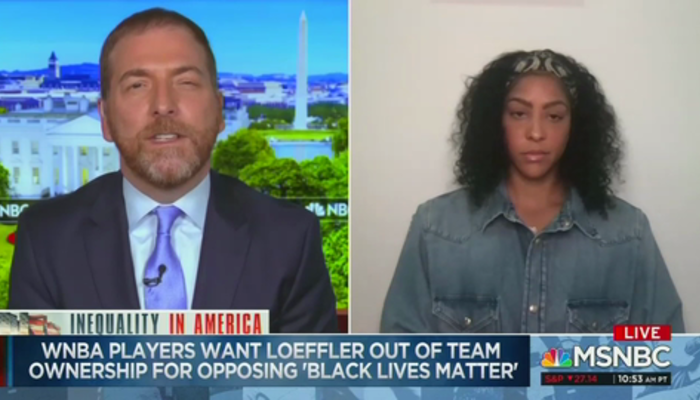 Chuck Todd and Candace Sparks