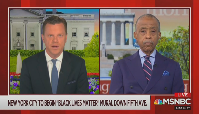 Willie Geist Al Sharpton Morning Joe 7-9-20