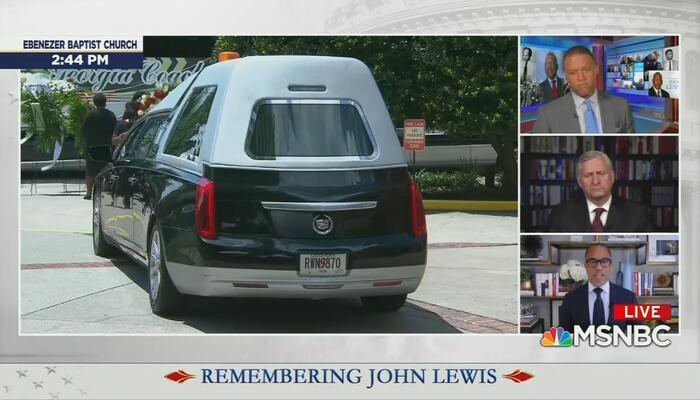 MSNBC Lewis Funeral