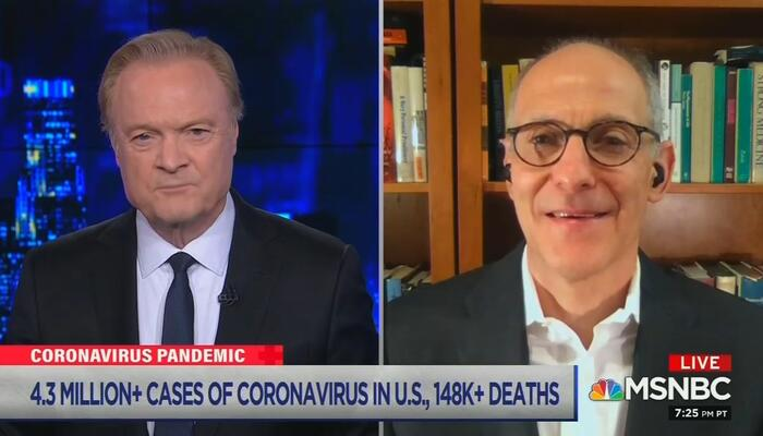 Lawrence O'Donnell and Zeke Emanuel