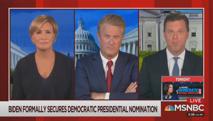 Mika Brzezinski Joe Scarborough Willie Geist Morning Joe 8-19-20
