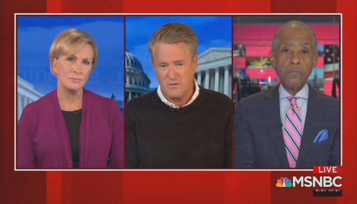 Mika Brzezinski Joe Scarborough Al Sharpton Morning Joe 9-8-20