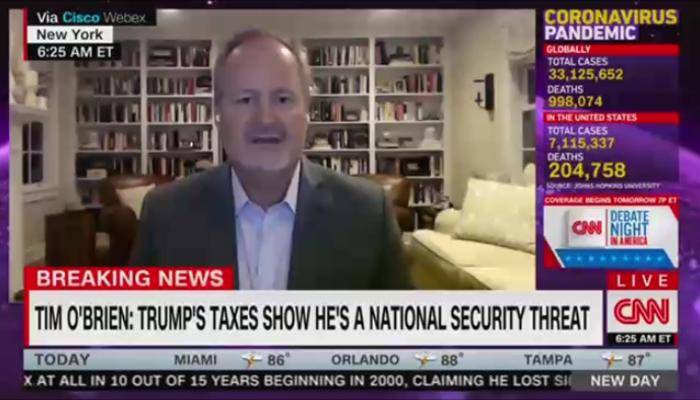 Tim O'Brien CNN New Day 9-28-20