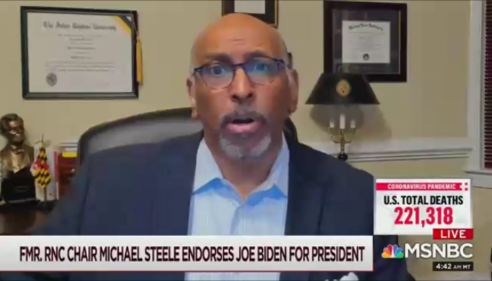 Michael Steele MSNBC Morning Joe 10-20-20