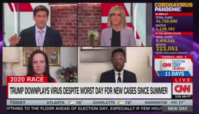 John Berman Alisyn Camerota CNN New Day 10-23-20