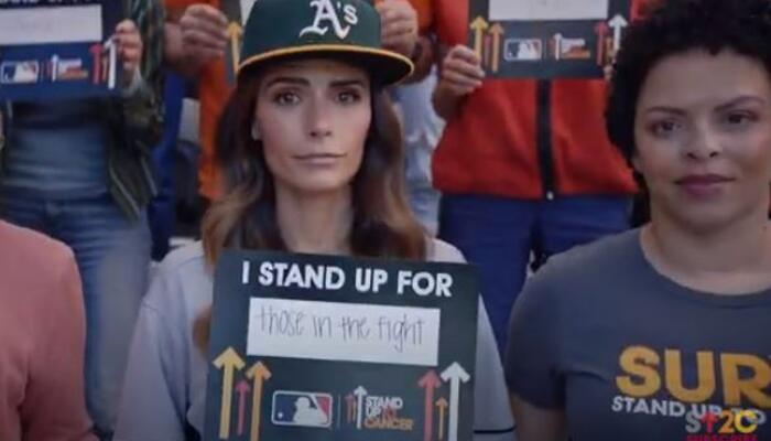 World Series Standup2cancer file photo