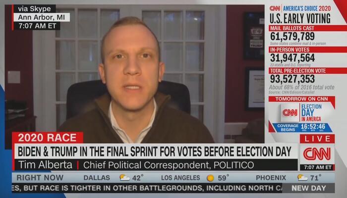 Tim Alberta CNN New Day 11-2-20