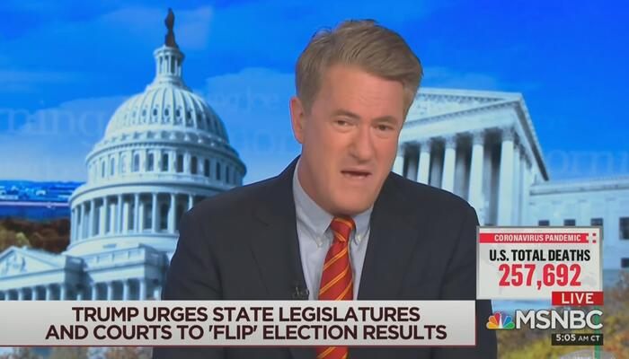 Joe Scarborough MSNBC Morning Joe 11-23-20