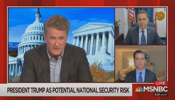 Joe Scarborough Ken Dilanian MSNBC Morning Joe 11-30-20