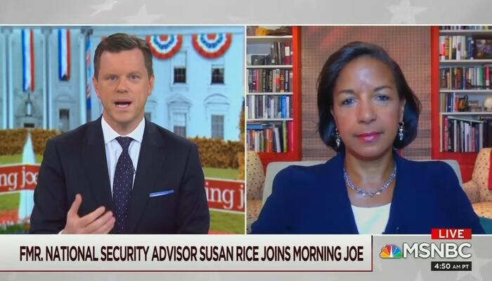 Willie Geist and Susan Rice