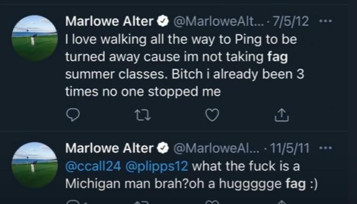 Marlowe Alter tweet