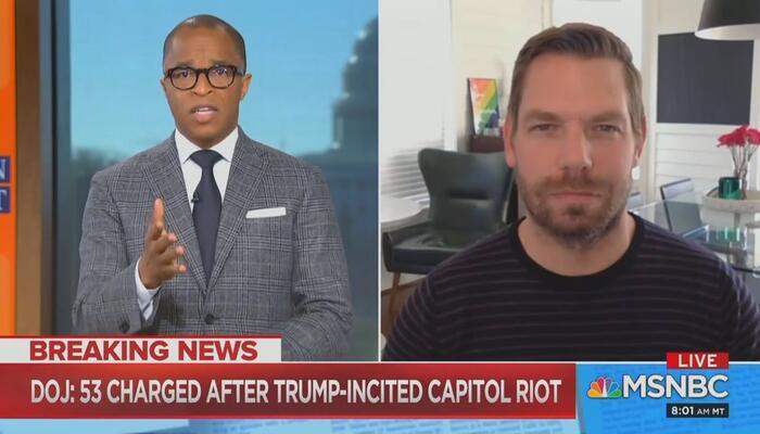 Jonathan Capehart Eric Swalwell MSNBC Sunday Show with Jonathan Capehart 1-10-21