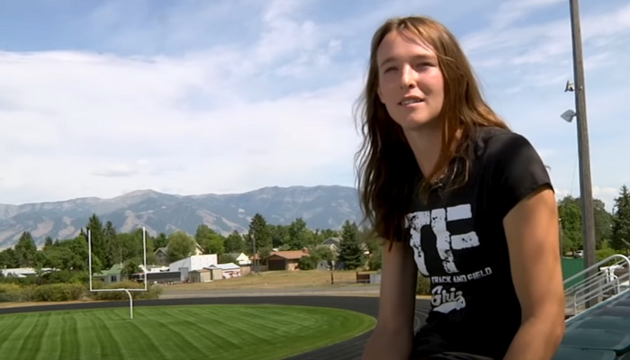 June Eastwood, U. of Montana trans runner