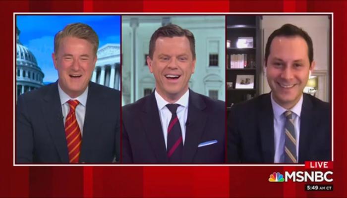 MSNBC Morning Joe Joe Scarborough Willie Geist Sam Stein 1-8-21