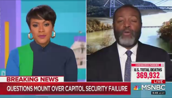 MSNBC The Cross Connection Tiffany Cross Malcolm Nance 1-9-21