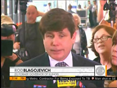 Former Illinois Governor Rod Blagojevich, screen cap from the 28 June 2011 Edition of CBS's The Early Show | NewsBusters.org