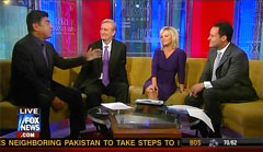 George Lopez, Comedian; Steve Doocy, Anchor; Gretchen Carlson, Anchor; & Brian Kilmeade, Anchor | NewsBusters.org
