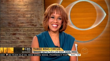 Gayle King, CBS News Anchor | NewsBusters.org