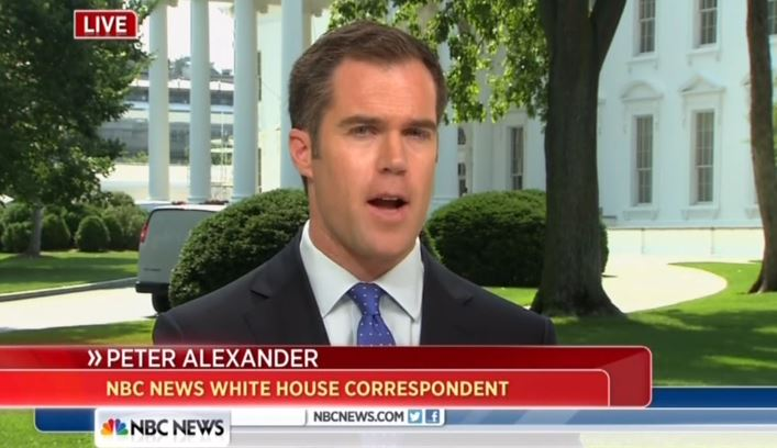 Gay reporter in white house