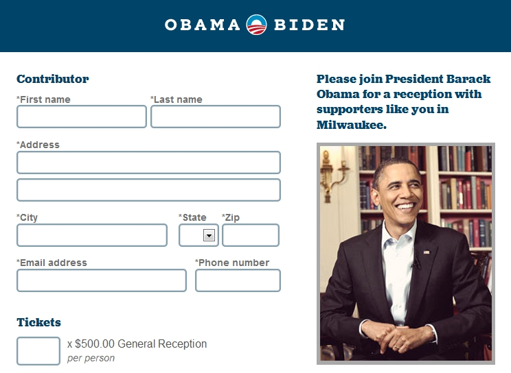 CNN Reporter Sends Obama Donation Request Form to Twitter