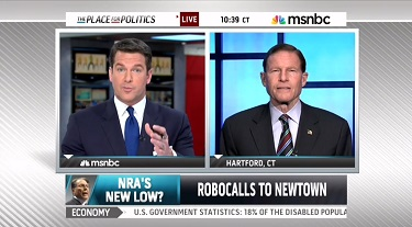 Thomas Roberts of MSNBC with Sen. Richard Blumenthal on the March 26, 2013 MSNBC Live.