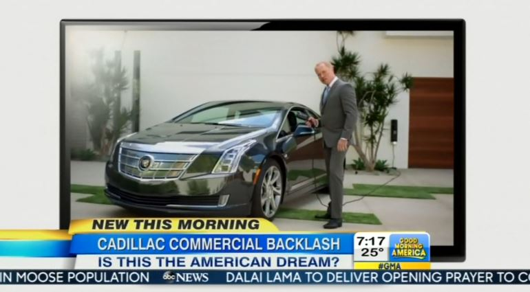 Abc Frets Over Pro American Cadillac Ad Arrogant And Xenophobic