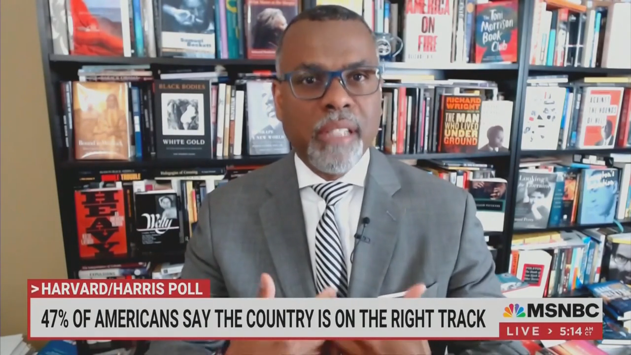 'Competence Is Actually at the Helm': MSNBC Regular's Laugh Line of the Day