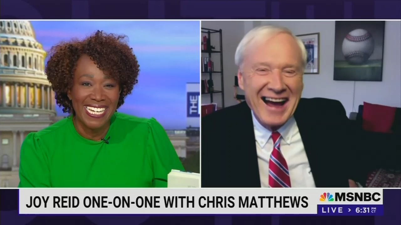 He's BACK! Chris Matthews Appears on MSNBC For the First Time Since Losing His Show