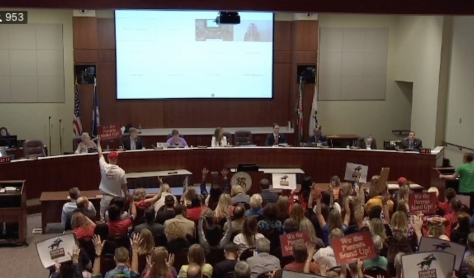 SHE'S BACK: 8th-Grader Shames School Board - 'How Evil Can You Be?'