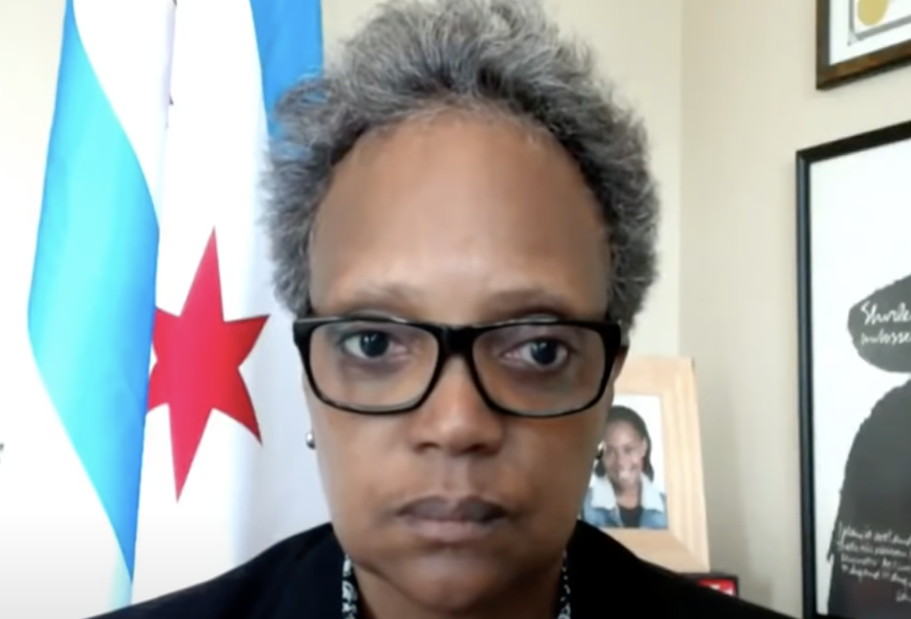 I'll 'ABSOLUTELY DO IT AGAIN': Mayor Lightfoot Vows To Discriminate Against White Journos