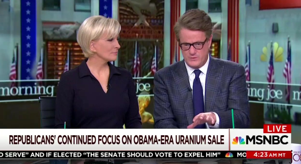 Morning Joe: Investigating Clintons Is 'What Joseph Stalin Would Do'