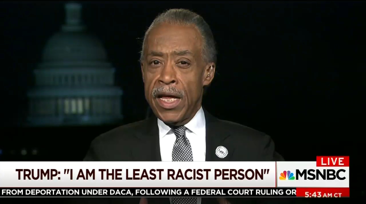 Al Sharpton: Donald Trump's 'Agenda Is to Race-Bait and Bring Us Backwards' '100 Years'