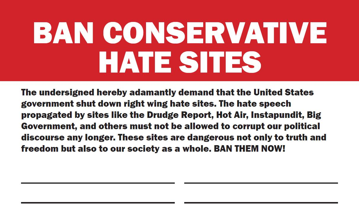 censorship and the banning of hate sites by the united states government I've been seeing more and more calls for twitter to ban hate speech  the united states has been ignoring nazis ever since and they're still no more dangerous .