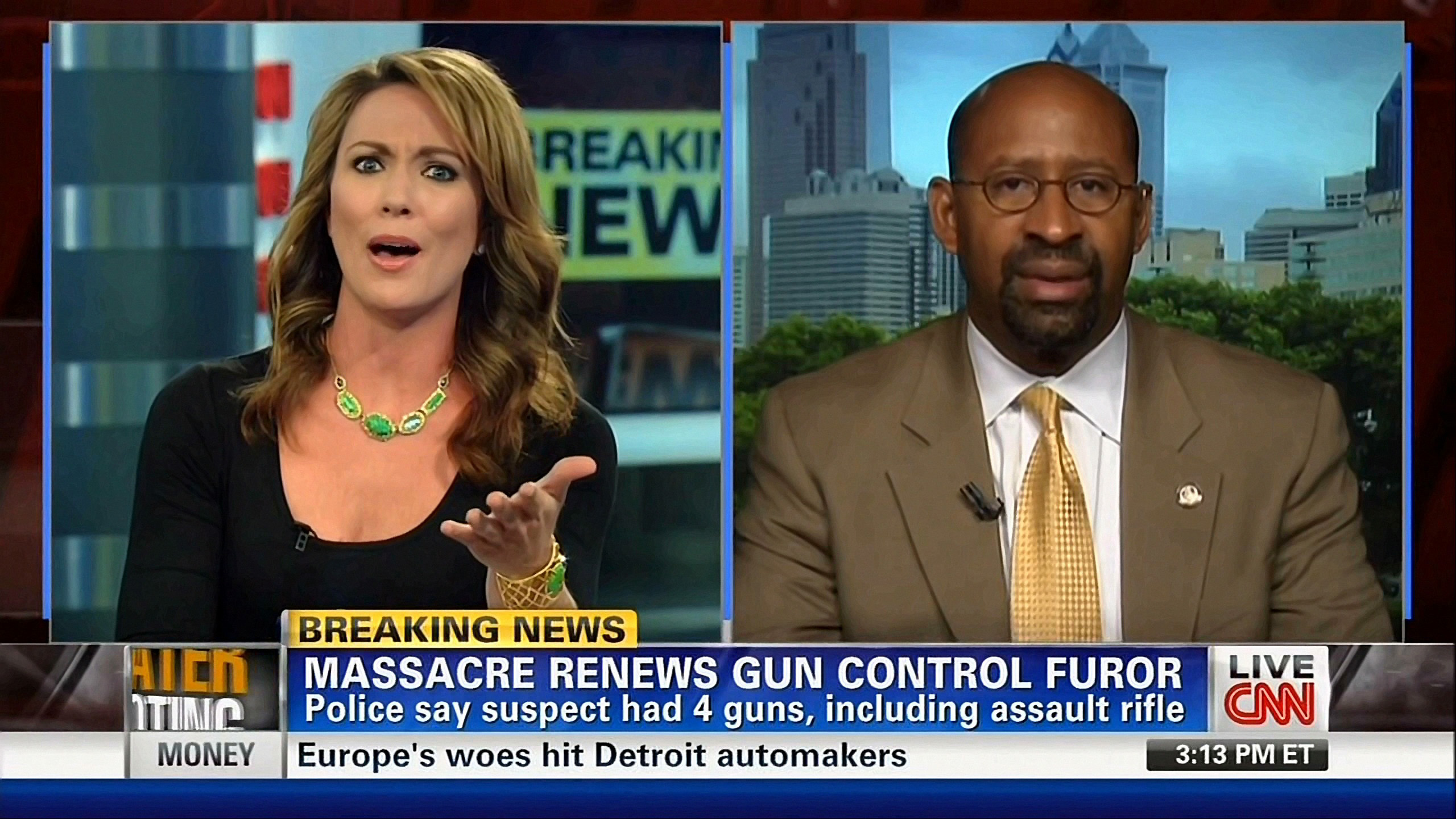 CNN World News Picture: CNN Uses Aurora Shooting To Force Anti-Gun Agenda On Viewers