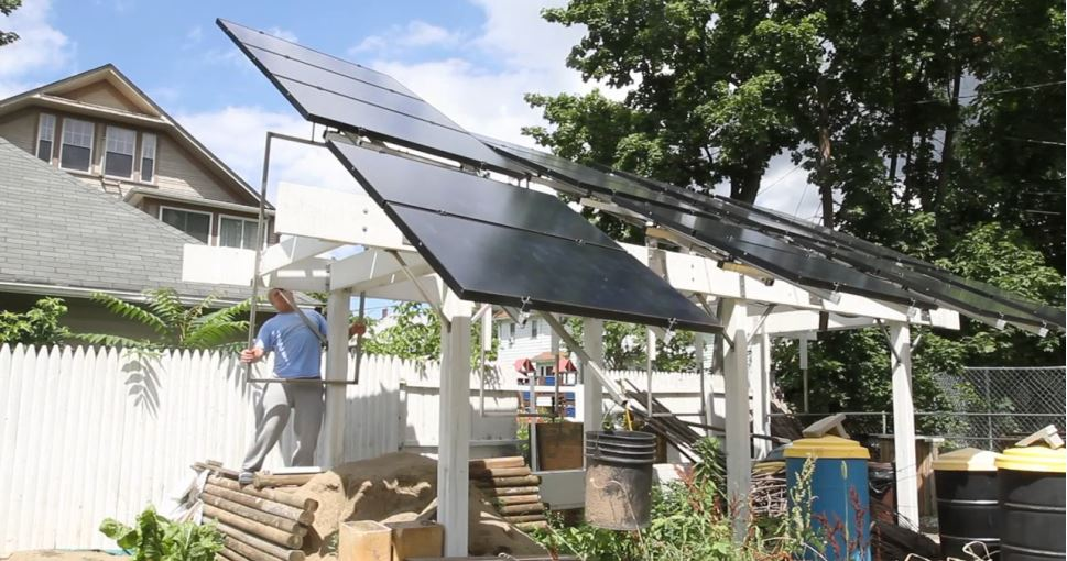 Backyard Solar Panels usa today finds home solar panels not cost-effective