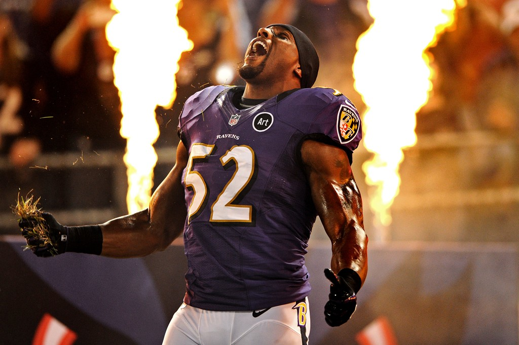 ray lewis Ray lewis knelt with other ravens players during the playing of the national anthem that didn't sit well with some fans.