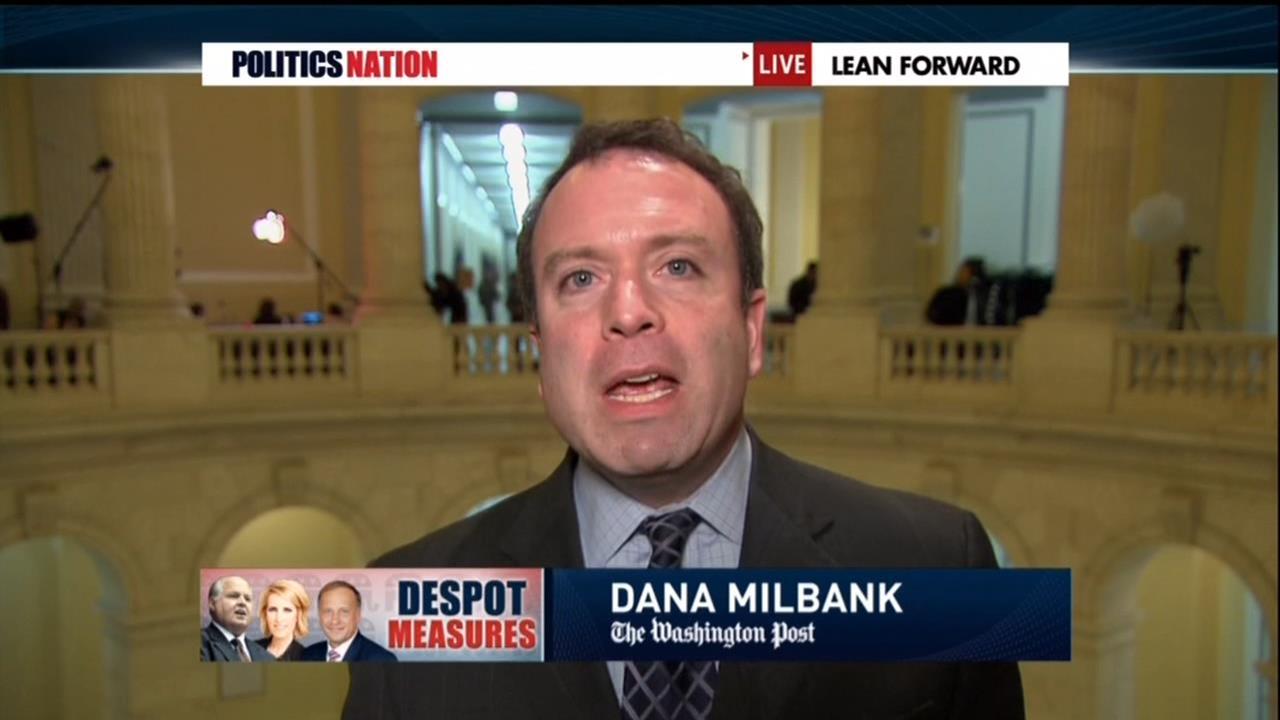 Democracy DIES in Darkness! WashPost's Dana Milbank Offered Lesser Press Pass!