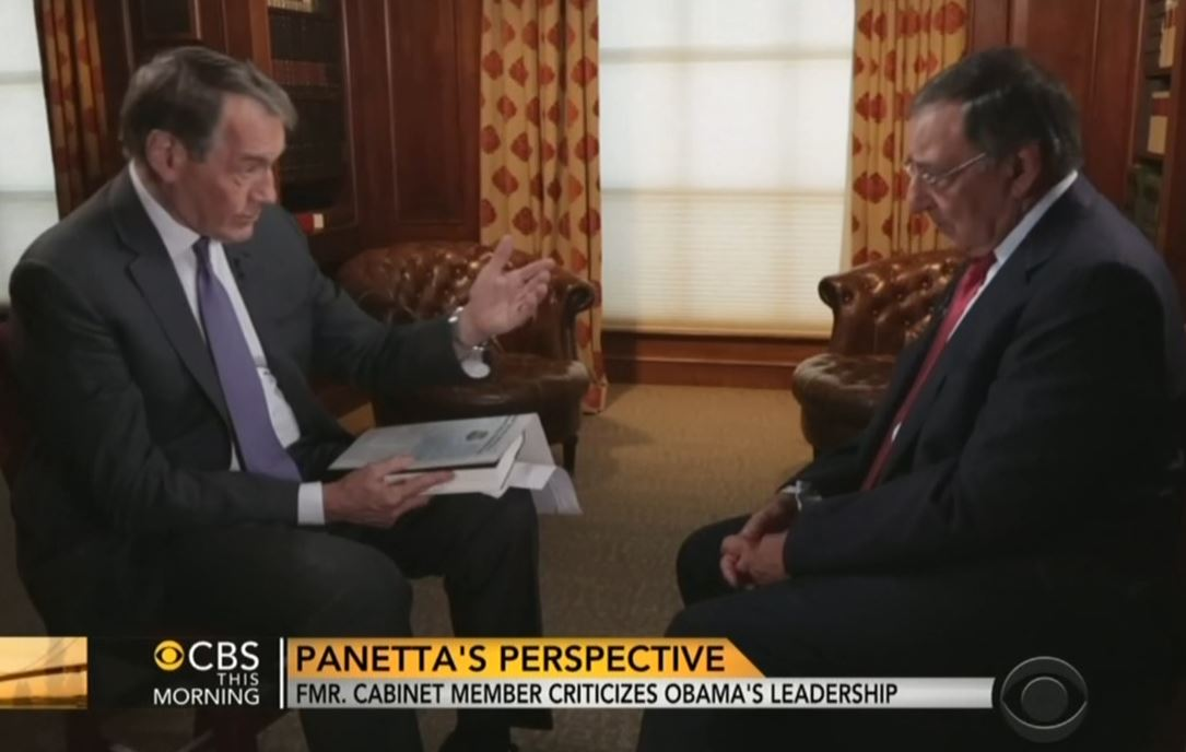 Charlie rose scolds panetta shouldn 39 t you wait until - When is obama out of office ...