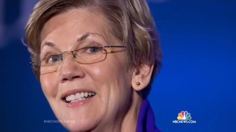 Nbc Hails Elizabeth Warren As The Liberal Wing S Newest