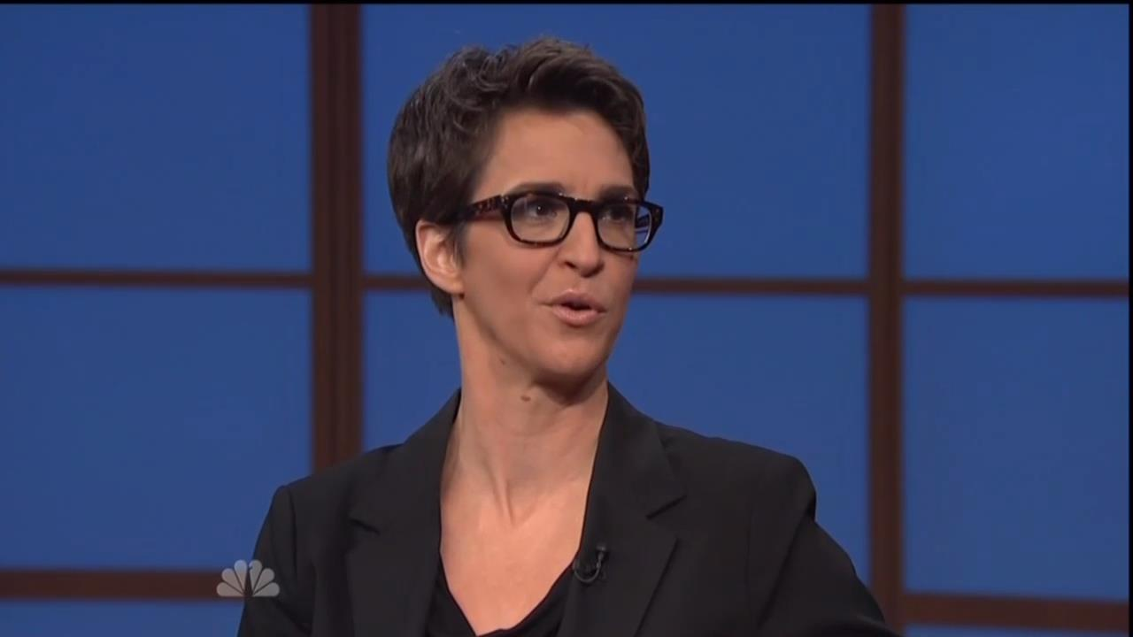 Msnbcs Rachel Maddow Compares Dick Cheney To Villain From House