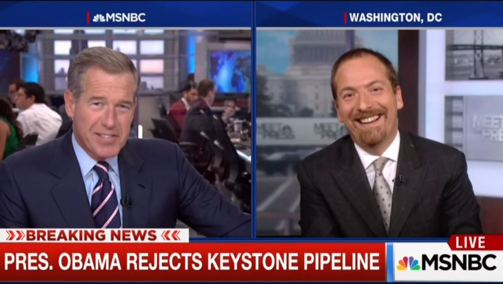 Even MSNBC Hosts Not Impressed With Their Own Breaking News On Keystone Pipeline