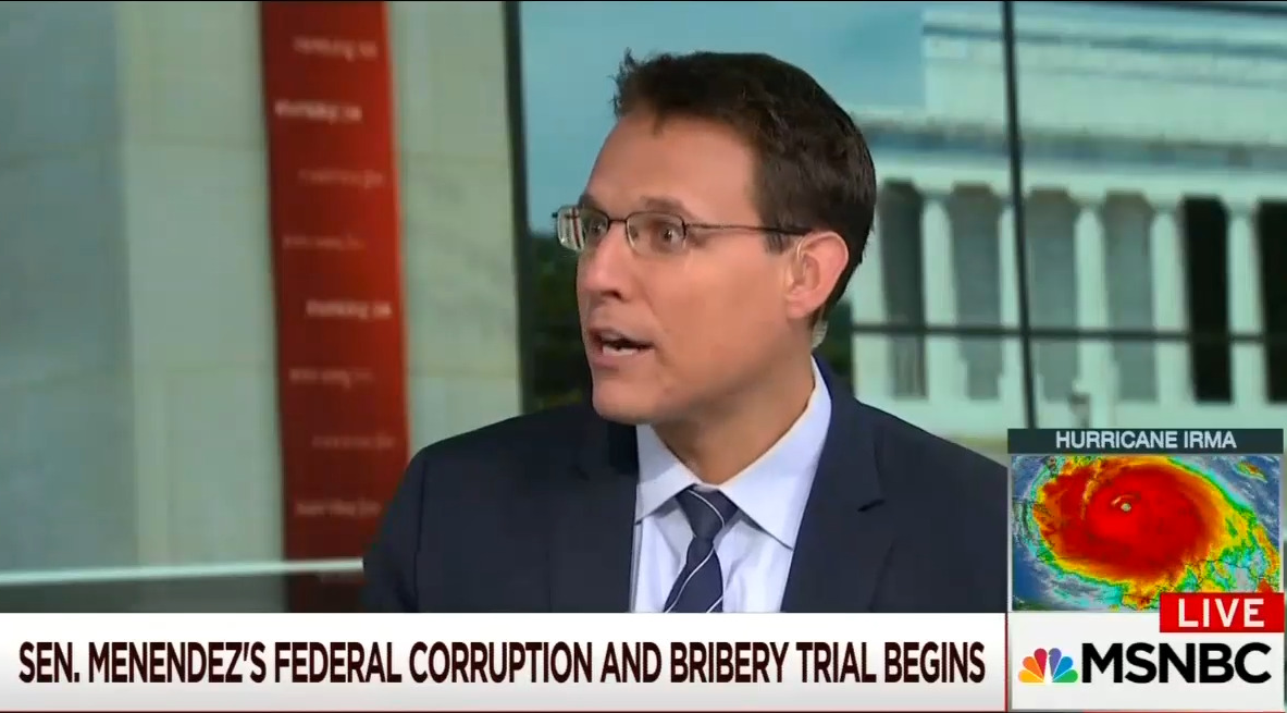 MSNBC: Menendez Can 'Hang On' to Senate Seat 'Months' After Corruption Conviction