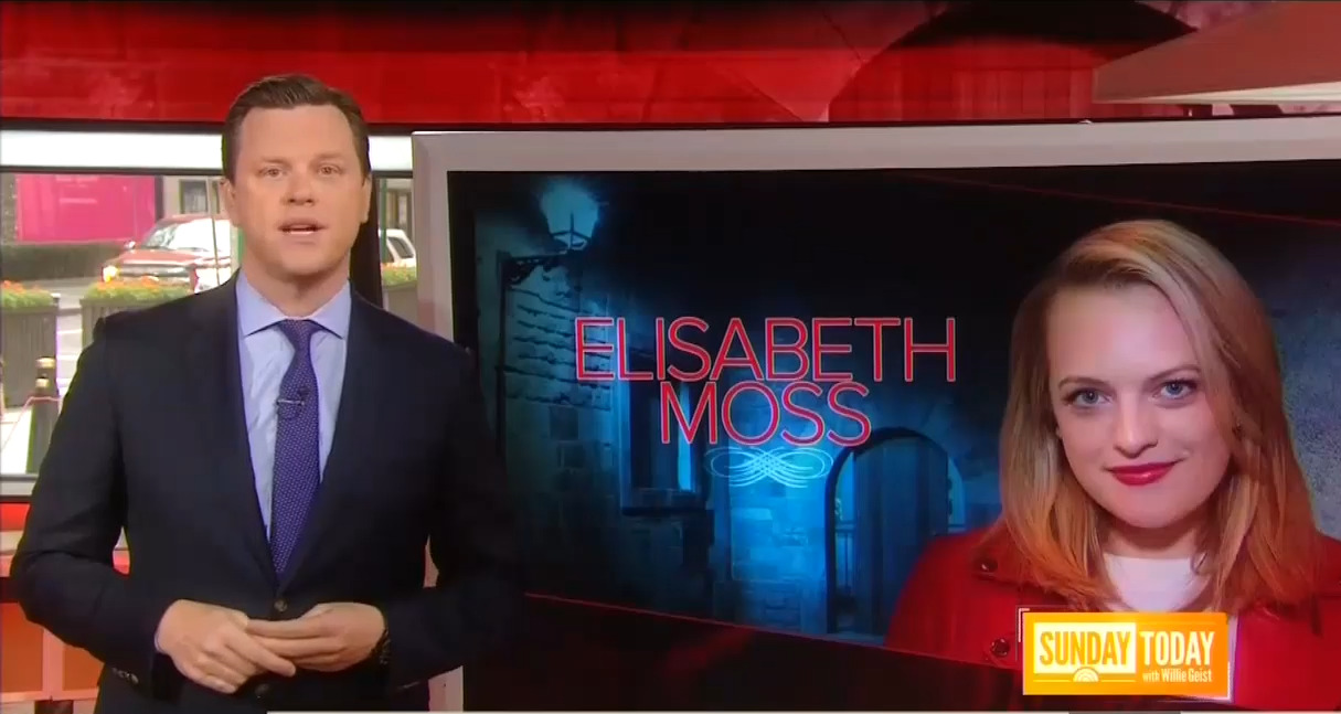 NBCs Geist Sees Glimmer of Modern Reality in Totalitarian Handmaids Tale