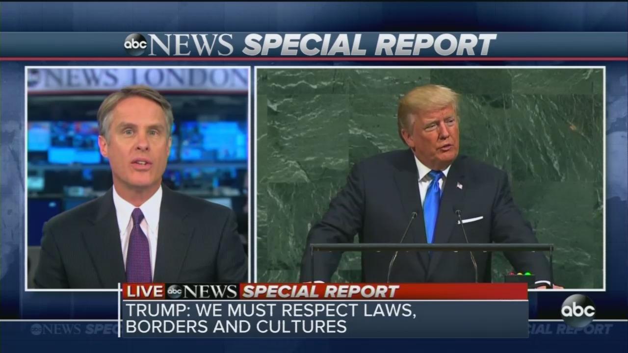 Freak Out: ABC Assails Trump Speech as Bordering on Threat of War Crime